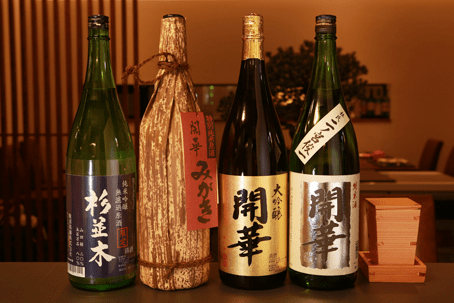 地元産日本酒
