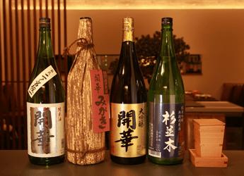 写真: 地元産日本酒